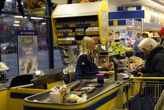 GERMAN DISCOUNT CHAIN STORE LIDL Stock Photography