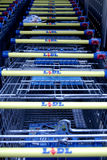 GERMAN DISCOUNT CHAIN STORE LIDL Royalty Free Stock Photos