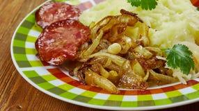 German dish  Himmel und Erde Stock Photos