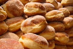 German donuts royalty free stock photos