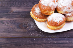 German donuts - berliner Stock Images