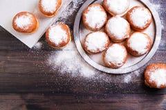 German donuts - berliner Stock Photos