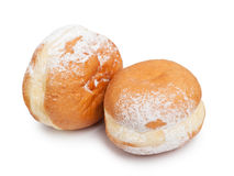 German doughnut berliner Royalty Free Stock Photography