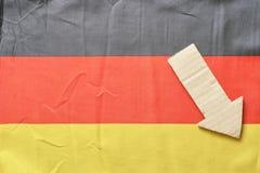 German downturn Stock Photography