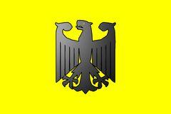 German eagle symbol Royalty Free Stock Image