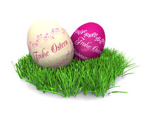 German Easter eggs Royalty Free Stock Image
