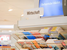 German economic magazines Royalty Free Stock Photos