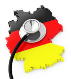 German economy analysis Royalty Free Stock Image