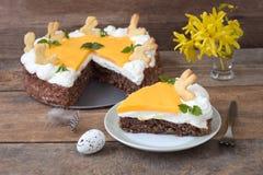 German Eierlikoer Cake royalty free stock image
