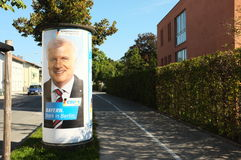 German elections in bavaria 2013 Royalty Free Stock Image