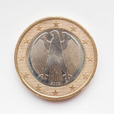 German Euro coin Stock Photo