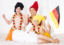 German family Royalty Free Stock Photo