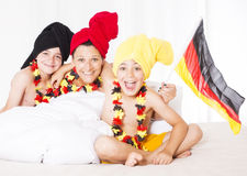 German family Stock Photo