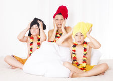 German family Royalty Free Stock Image
