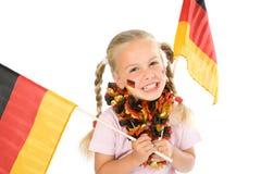German fan Stock Image