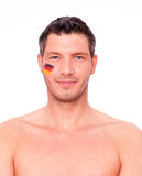 German fan Royalty Free Stock Image