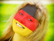 German fan Royalty Free Stock Photos