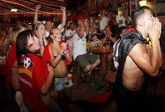 German Fans Royalty Free Stock Photos