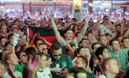 German Fans 034 Stock Photos