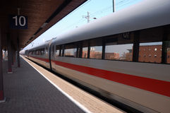 German Fast Train Royalty Free Stock Images