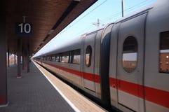 German Fast Train Stock Image
