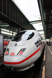 German fastest train  ICE. ICE Train, the fastest train of Germany Stock Photo