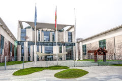 German Federal Chancellery. Seat of the government - German Federal Chancellery in Berlin Royalty Free Stock Photo