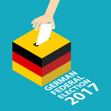 German Federal Election 2017 Stock Photography