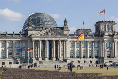 German Federal Parliament - Bundestag Royalty Free Stock Images