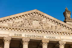 German Federal Parliament (Reichstag) Stock Photography