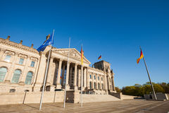 German Federal Parliament (Reichstag) Stock Images