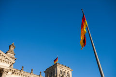 German Federal Parliament (Reichstag) Royalty Free Stock Photo