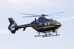 German Federal Police Helicopter Stock Photography