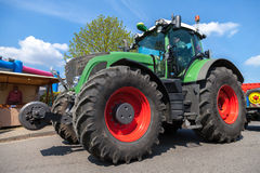German fendt tractor drives on an oldtimer show Stock Image