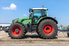 German fendt tractor stands on an oldtimer show Royalty Free Stock Images