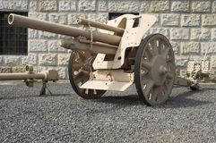 German Field Howitzer. 105mm Stock Images