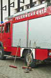 German fire department Royalty Free Stock Images