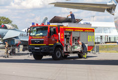 German fire service truck Stock Image