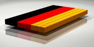 German Flag Royalty Free Stock Photography