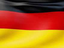 German flag. An image of a German flag background Stock Image