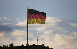 German flag Royalty Free Stock Image