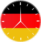 German Flag Clock Stock Photos