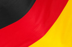 German Flag. Close up of flag of Germany stock photos