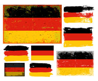German flag collection vector Stock Image