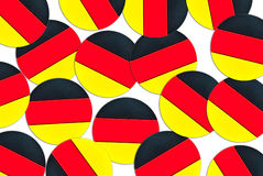 German flag concept Royalty Free Stock Images