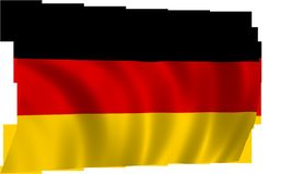 German Flag, Flag, German, Symbol Stock Photo