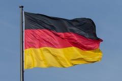 German flag, flag of germany Royalty Free Stock Photos