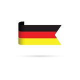 German flag Royalty Free Stock Images
