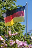 The German flag Royalty Free Stock Images