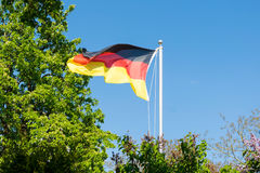The German flag Royalty Free Stock Photo